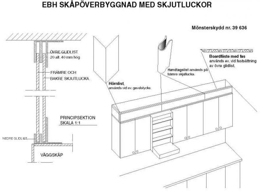 Skåpöverbyggnad 1164 tr8nvd2800 - 331